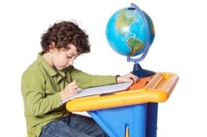 child-studying