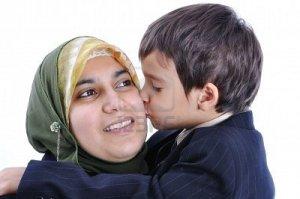 son kiss mum