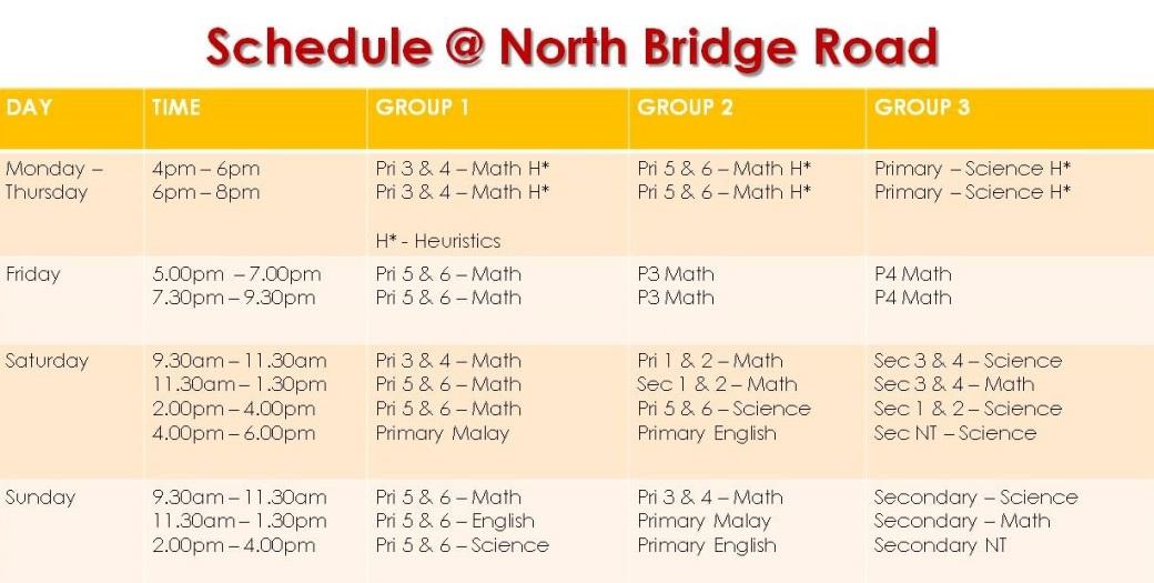 Schedule NBR- 27.6.18
